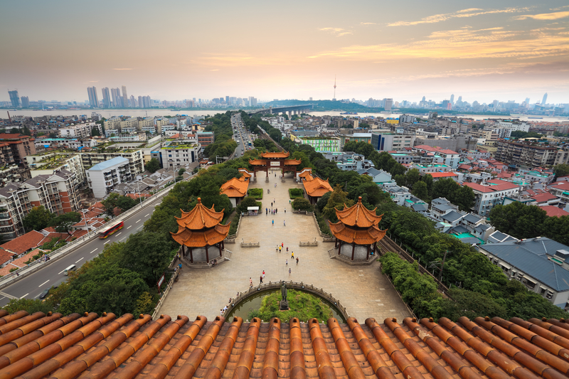 Wuhan is the largest city in Central China.